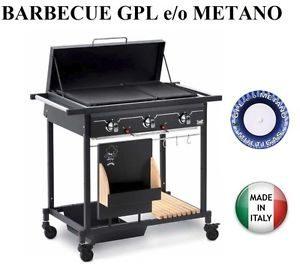Migliori barbecue a gas metano