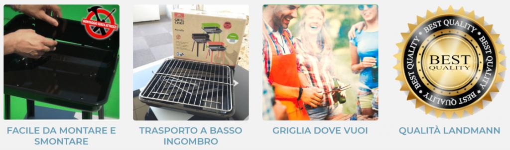 Barbecue Porta Go recensione