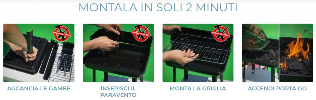 Barbecue Porta Go opinioni
